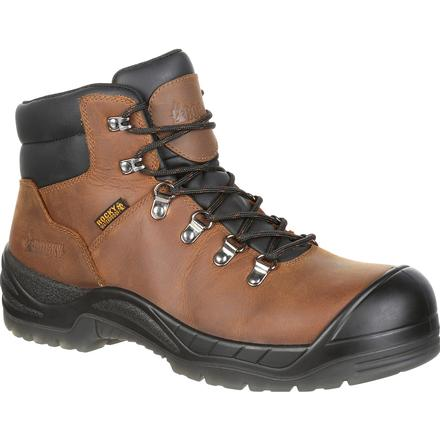 Brown leather hiking boot sold by Stockdale's Tennessee - a Rural Outfitter and farmer's clothing store.