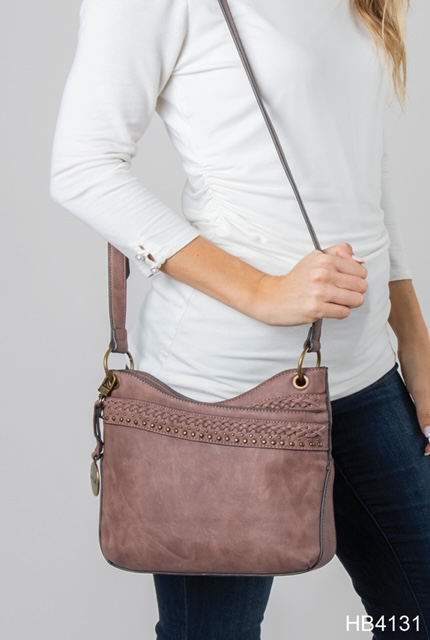 HB4131 Mauve Shoulder Bag at Country Home Decor Store Tennessee