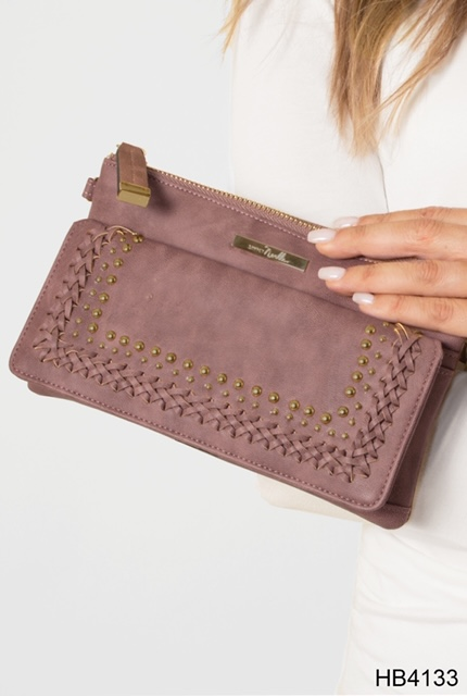HB4133 Mauve Clutch at Country Home Decor Store Tennessee