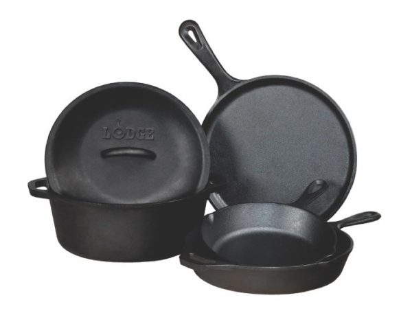 Cast-iron Lodge Cookware Set from Stockdales
