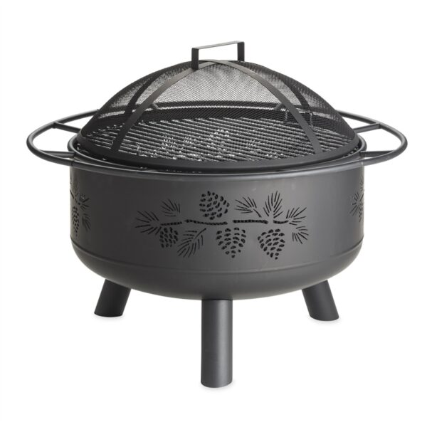 Plow Hearth Firepit from Stockdales, country home decor store tennessee