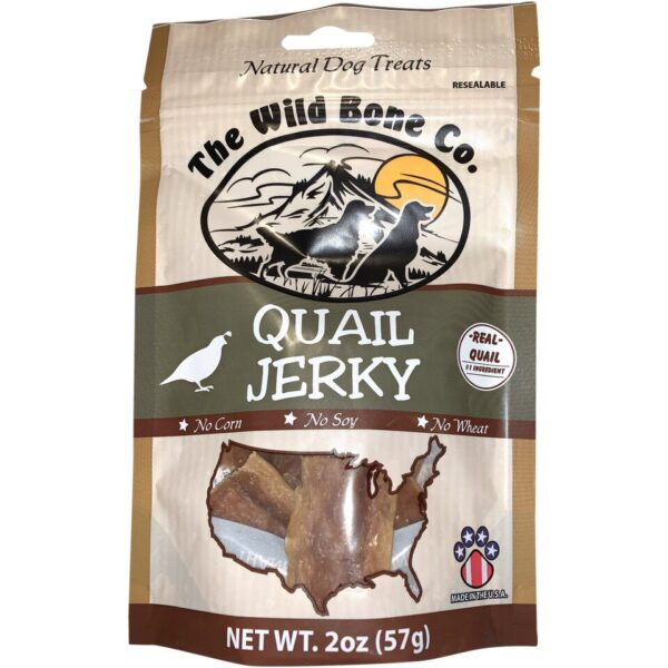 Wild Bone Jerky Quail sold by Stockdales, a home, garden and farm supply store Tennessee